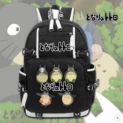 Studio Ghibli My Neighbor Totoro Canvas  Backpack
