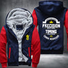 Conor Mcgregor timing beats speed Printing Pattern Thicken Fleece Zipper Red Hoodies Jacket