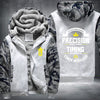 Conor Mcgregor timing beats speed Printing Pattern Thicken Fleece Zipper White Camo Hoodies Jacket