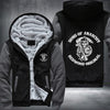 Son of Anarchy Redwood Original Printing Pattern Thicken Fleece Zipper Grey Hoodies Jacket