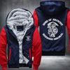 Son of Anarchy Redwood Original Printing Pattern Thicken Fleece Zipper Red Hoodies Jacket