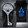 Assassin's Creed Unity Printing Pattern Thicken Fleece Zipper Grey Hoodies Jacket