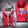 Licensed Practical Nurse Printing Pattern Thicken Fleece Zipper Red Grey Hoodies Jacket
