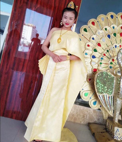 High Quality Dai clothing Woman  Thai dress
