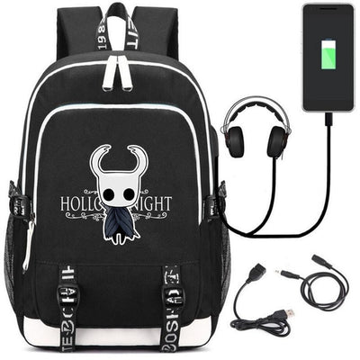 Game Hollow Knight USB charging students Backpack