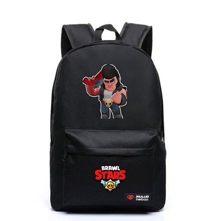 Boy's Girl's Brawl Stars Mochila students Backpack