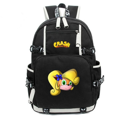 Crash Bandicoot canvas Backpack
