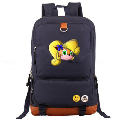 Crash Bandicoot Children's School canvas backpack