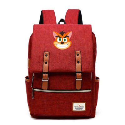 Preppy styles Crash Bandicoot Backpack