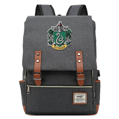 Magic Slytherin Gryffindor Hogwarts Belt Backpack