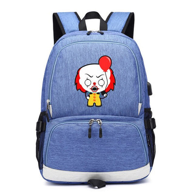 Stephen King's It usb charging Laptop Backpack