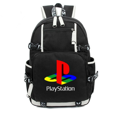 Playstation ps4 travel Canvas Backpack