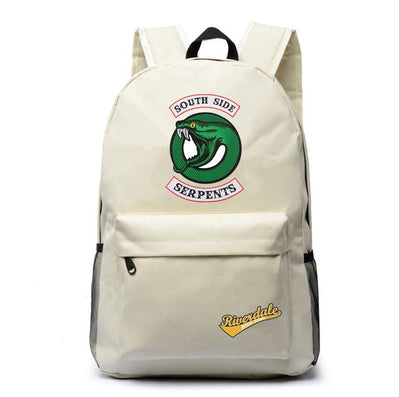Riverdale South Side Serpents canvas traveling backpack