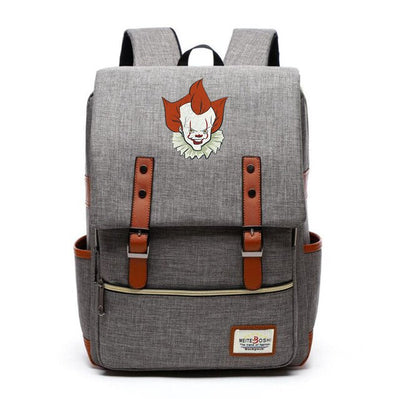 Stephen King's It preppy style Canvas Backpack