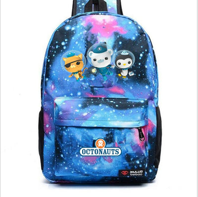 Boy's Girl's The Octonauts Barnacles student Backpack