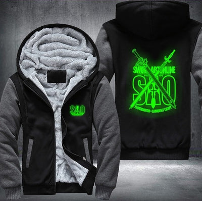 Sword Art Online Anime Luminous Coat Jacket