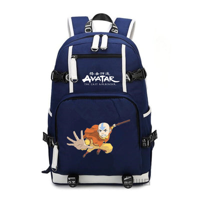 Student's Avatar The Last Airbender canvas Backpack