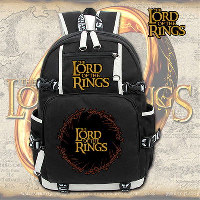 The Lord of Rings canvas Laptop Backpack