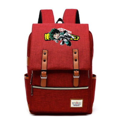 Children's My Hero Academia Canvas Backpack