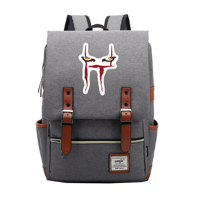 It Chapter Two Printed Satchel Bag Teenager School Backpack