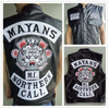 Mayans.MC Motorcycle Club Vest Jacket