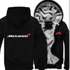 Car Brand McLaren Print Zipper Hoodies Jacket