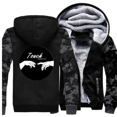Touch Agency Winter Michelangelo Vintage Thick Warm Fleece Jacket