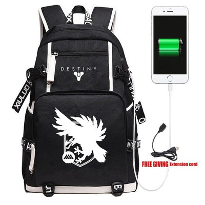 Destiny iron banner Unisex Travel Shoulder Laptop Backpack