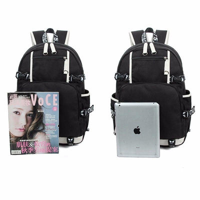 UNSPEAKABLE Unisex Travel Shoulder Laptop Backpack