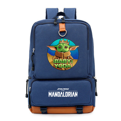 Student's  The Mandalorian yoda baby Backpack