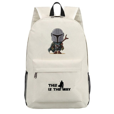 The Mandalorian Baby Yoda laptop Backpack