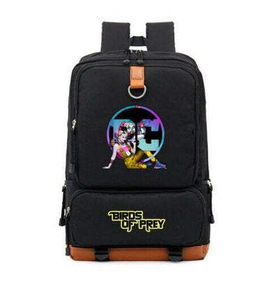 DC Harley Quinn Canvas Laptop Travel Backpack
