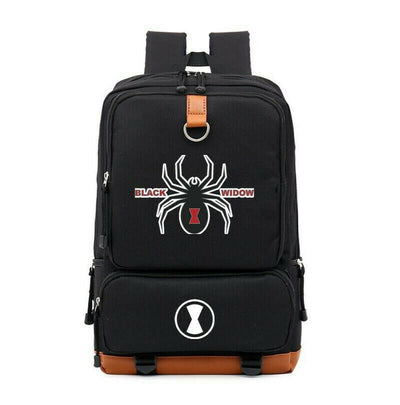 2020 new movie The Black Widow Canvas Laptop Backpack