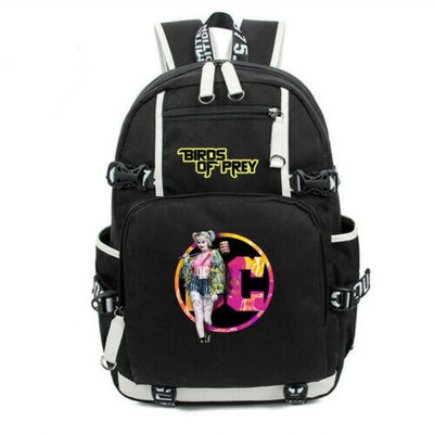 Student's DC Harley Quinn laptop Backpack