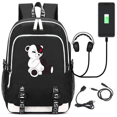 Anime Game Danganronpa School Backpack