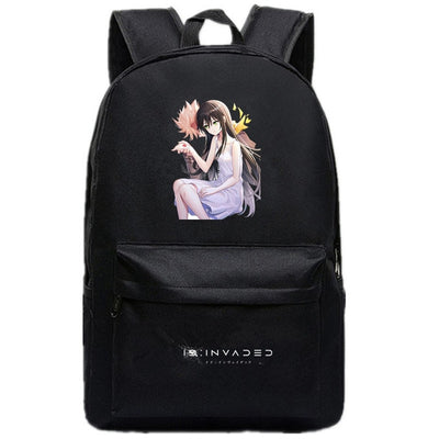 Children's ID:INVADED canvas backpack
