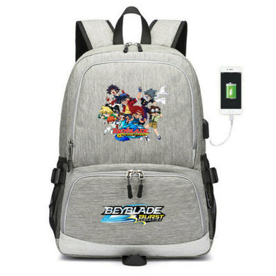 Beyblade burst evolution team USB charging travel Laptop backpack