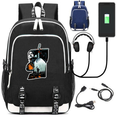 Game Death Stranding USB Charge Backpack