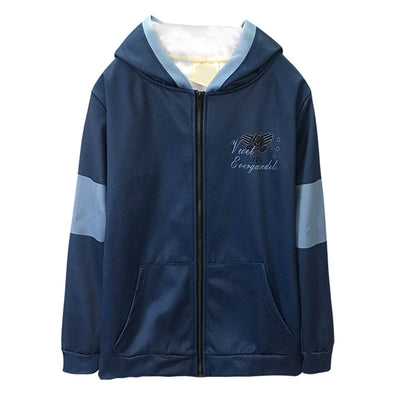 Anime Violet Evergarden hoodie cosplay winter hooded zipper wool men coat