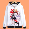 New Anime Angels of Death hoodie ray zack zipper Hooded Jacket Coat