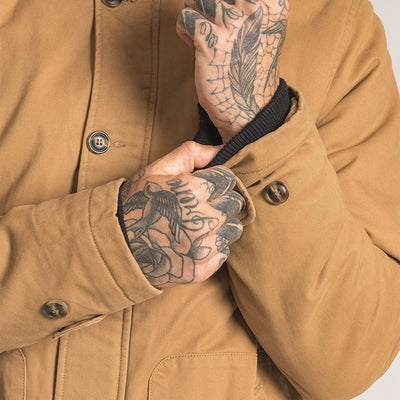 N1 deck work vintage army Military Cotton tactical warm thick winter jacket