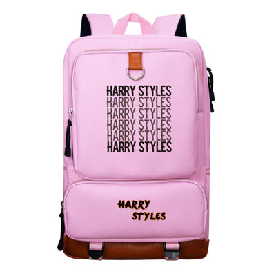 Harry Styles printed sports outdoor climbing backpack
