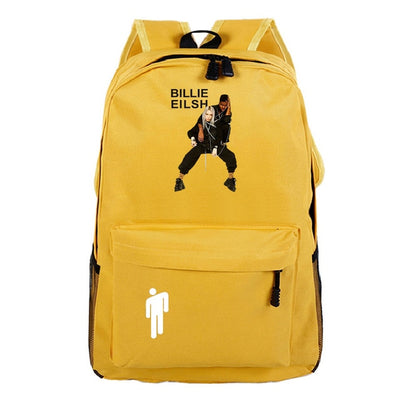 Billie Eilish Hot Sale Casual Oxford Ms. Backpack