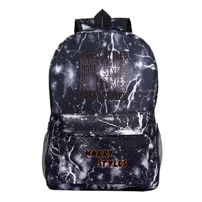 Harry Styles new printed laptop high-quality backpack