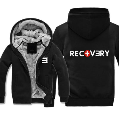 Eminem Recovery No love Zipper Hoodies Sweatshirt Jacket