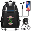 Riverdale South Side Serpents canvas travel bag
