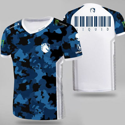 Top quality 1:1 Esports Team Liquid Custom ID Tshirt