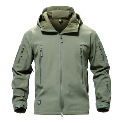 Shark Skin Soft shell Waterpoof Military Jacket