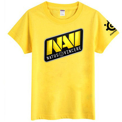 Navi Dota2 shirts Natus Vincere game heroes 100% cotton