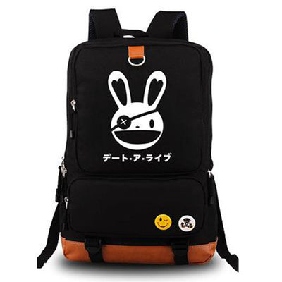 DATE A LIVE Anime Yatogami Tohka Cartoon Unisex Shoulder Laptop Backpack